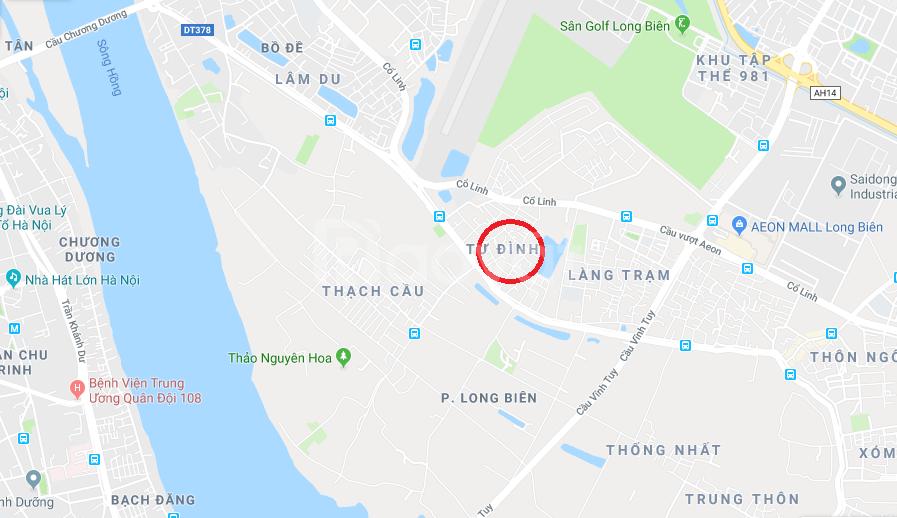 Cho thuê nhà 60m2 MT 6m ngõ oto phường Long Biên, Long Biên, Hà Nội