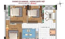 Bán chung cư Hoàng Quốc Việt chỉ 26,5tr/m2- tòa Hanhud 17 tầng