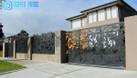 Cửa, cổng biệt thự, nhà phố đẹp cắt CNC nghệ thuật, sơn tĩnh điện (ảnh 1)