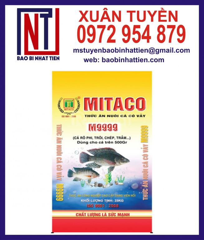 Chuyên cung cấp bao bì thức ăn thủy sản
