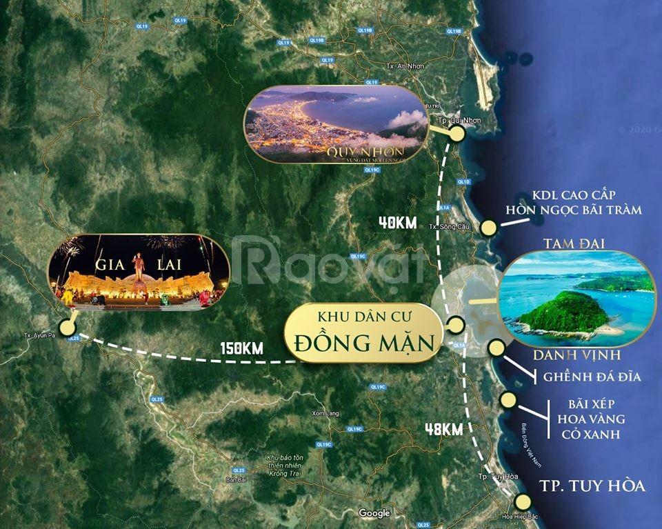 Đất vàng Vịnh Xuân Đài, sổ đỏ liền tay chỉ 570 triệu/nền