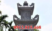 Mộ tháp đá – Xây mộ tháp phật giáo để hài cốt bằng đá đẹp