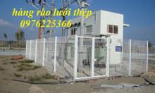 Nhận thi công lắp đặt các loại hàng rào lưới thép