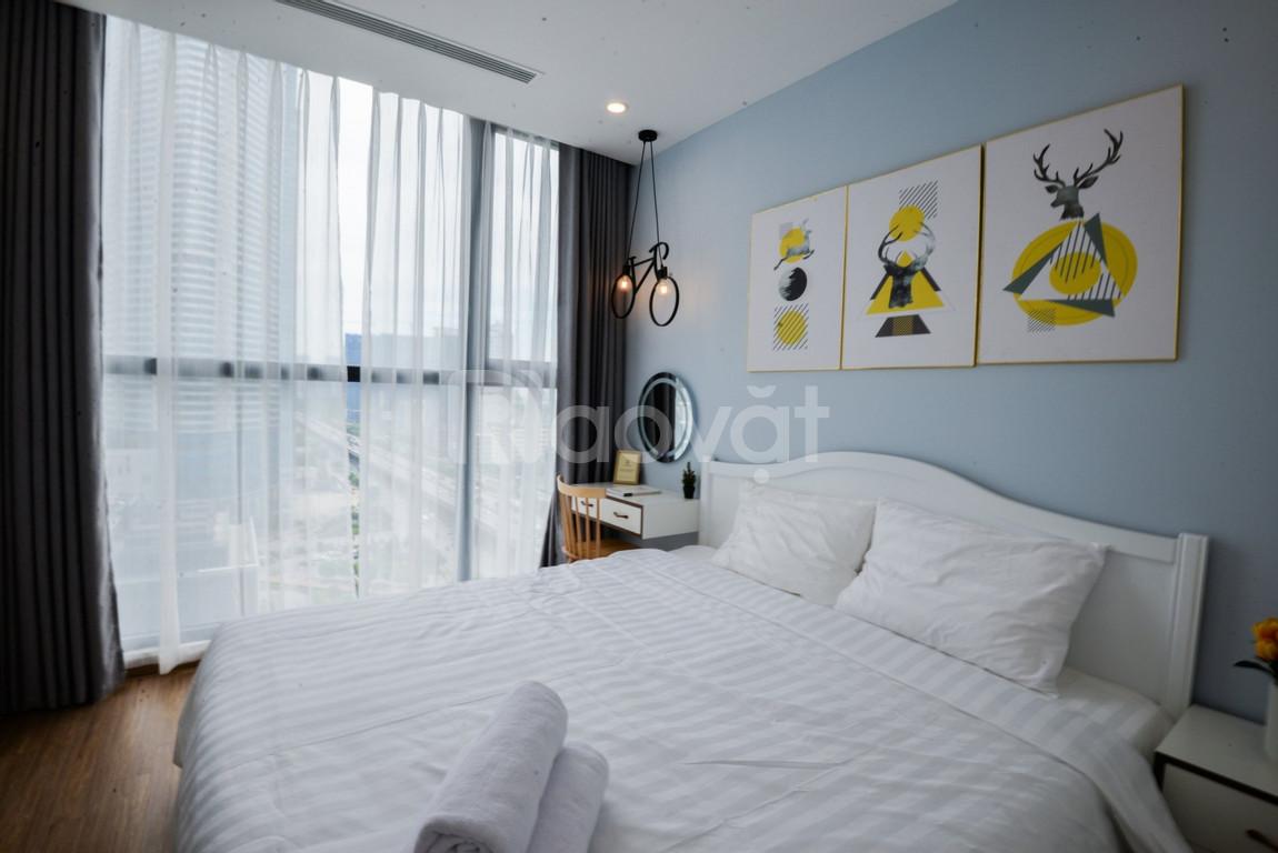 Cho thuê căn hộ 2 ngủ chung cư Goldmark City Hồ Tùng Mậu