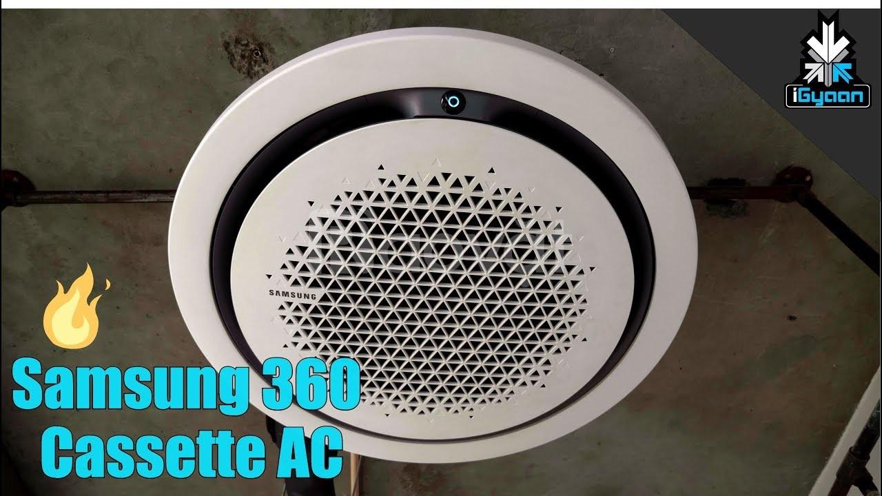 Máy lạnh âm trần Samsung, Cassette 360 Samsung, mặt nạ tròn phong cách
