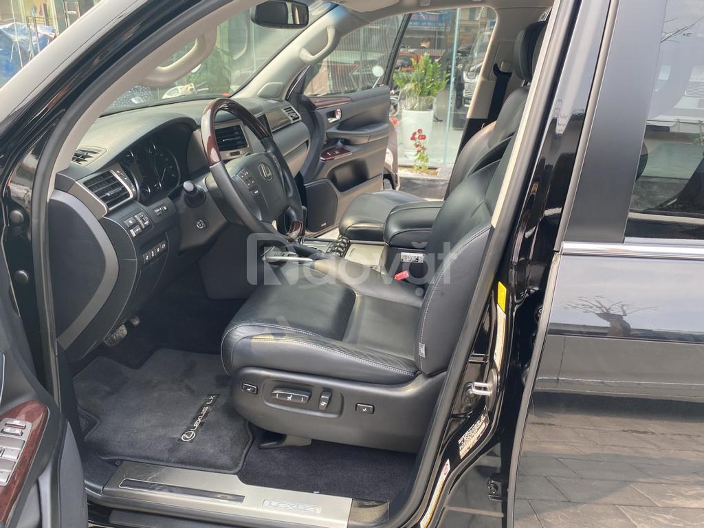 Bán Lexus LX570 nhập Mỹ, bản full, model và đăng ký 2014, xe mới