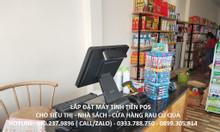 Máy tính tiền trọn bộ cho siêu thị thực phẩm tại TPHCM