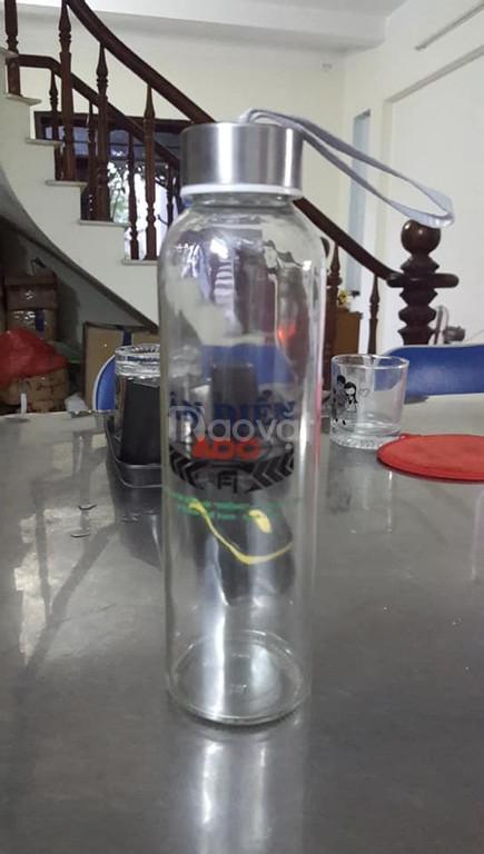 Nhận in bình nước thủy tinh 500ml giá rẻ ở Đà Nẵng (ảnh 1)