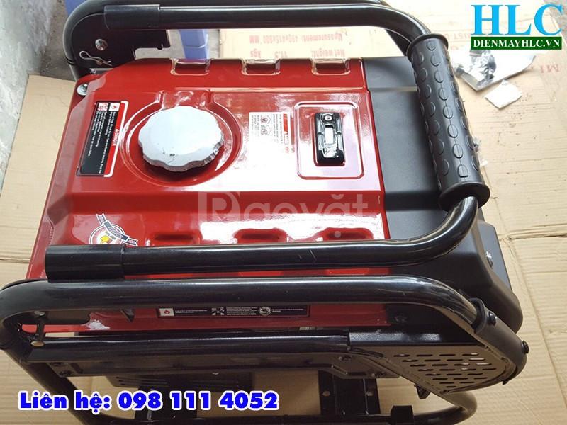 Máy phát điện chạy xăng mini Tomikama 4800 kéo tay cho gia đình