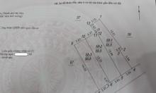 Bán 55m2 đất thổ cư phường Thạch Bàn ngõ 3.5m hướng Đông Nam 38tr/m2
