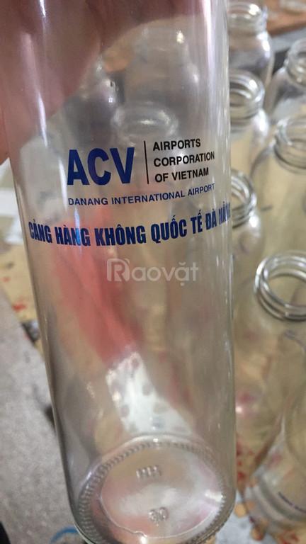 Nhận in bình nước thủy tinh 500ml giá rẻ ở Đà Nẵng (ảnh 6)