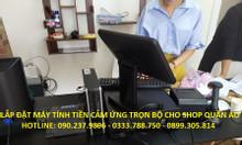 Bán máy tính tiền giá rẻ cho shop giày dép tại TPHCM