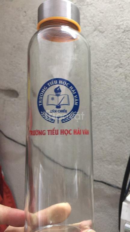 Nhận in bình nước thủy tinh 500ml giá rẻ ở Đà Nẵng (ảnh 2)
