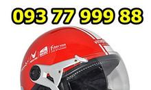 In logo nón bảo hiểm, in logo mũ bảo hiểm giá rẻ ht5