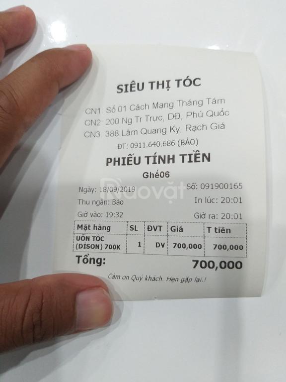 Máy tính tiền cảm ứng giá rẻ cho salon tóc tại TPHCM