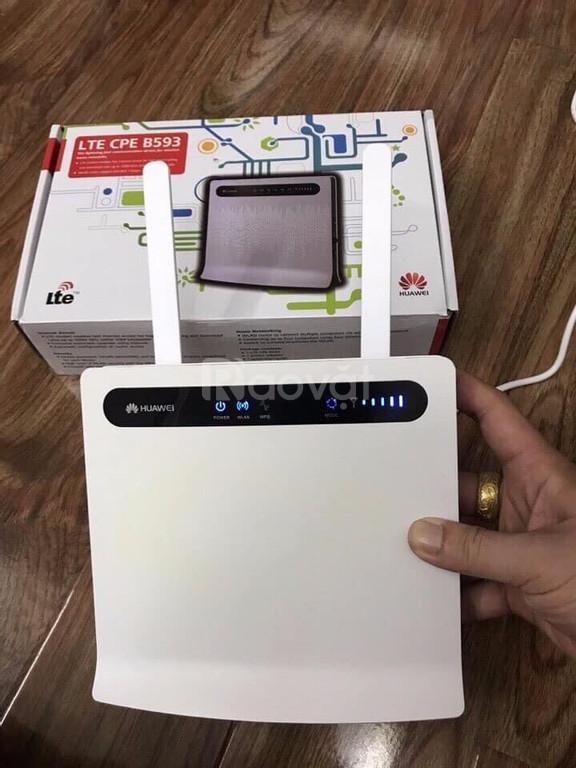 Bộ phát wifi 4G Huawei B593 có cổng LAN - giá rẻ tại Tp Vinh
