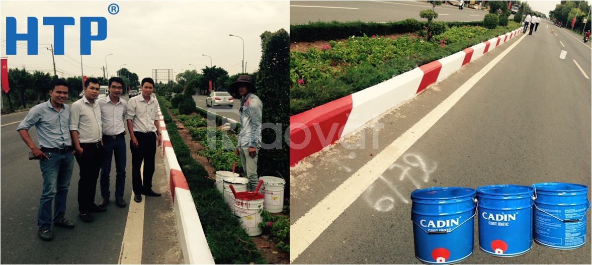 Đại lý sơn kẻ vạch Cadin giá rẻ tại Sài Gòn