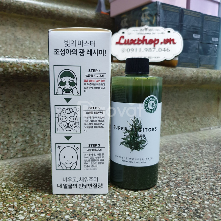 Super Vegitoks Cleanser 300ml chính hãng Hàn Quốc