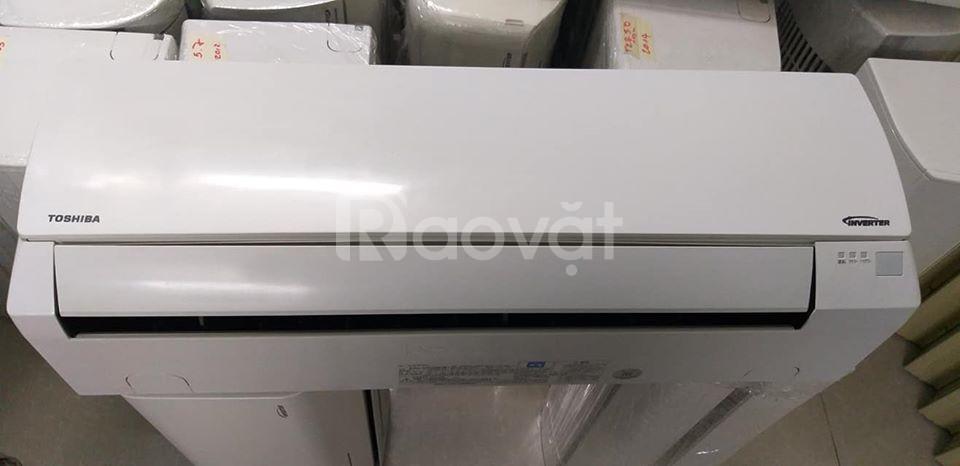 Máy lạnh cũ Toshiba tiết kiệm điện 1HP date 2015, hàng nội địa Nhật