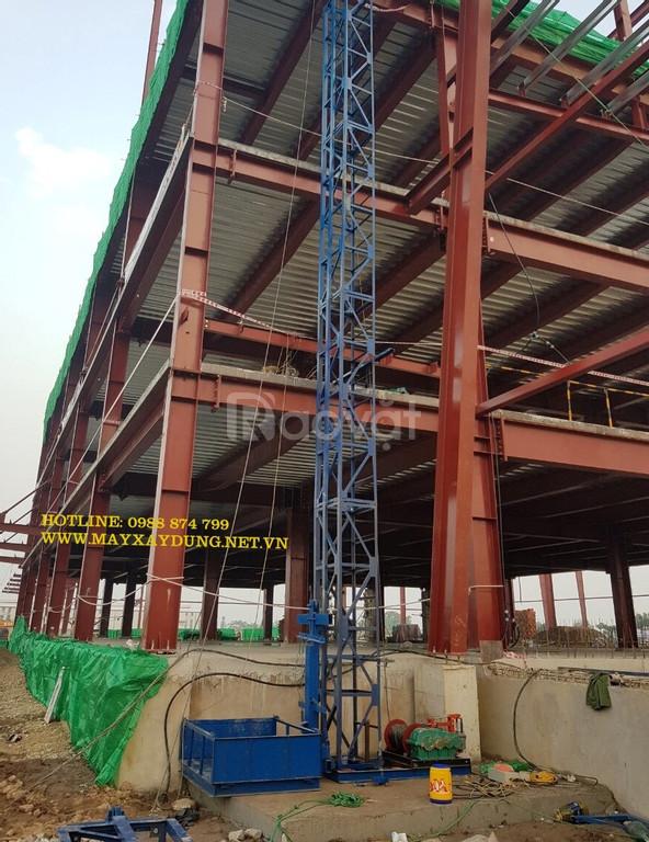 Xưởng sản xuất vận thăng nâng hàng xây dựng