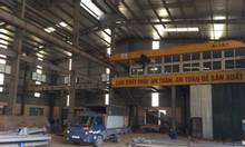 Cho thuê kho xưởng DT 2500m2 tại cụm khu CN Phú Thị, Gia Lâm.