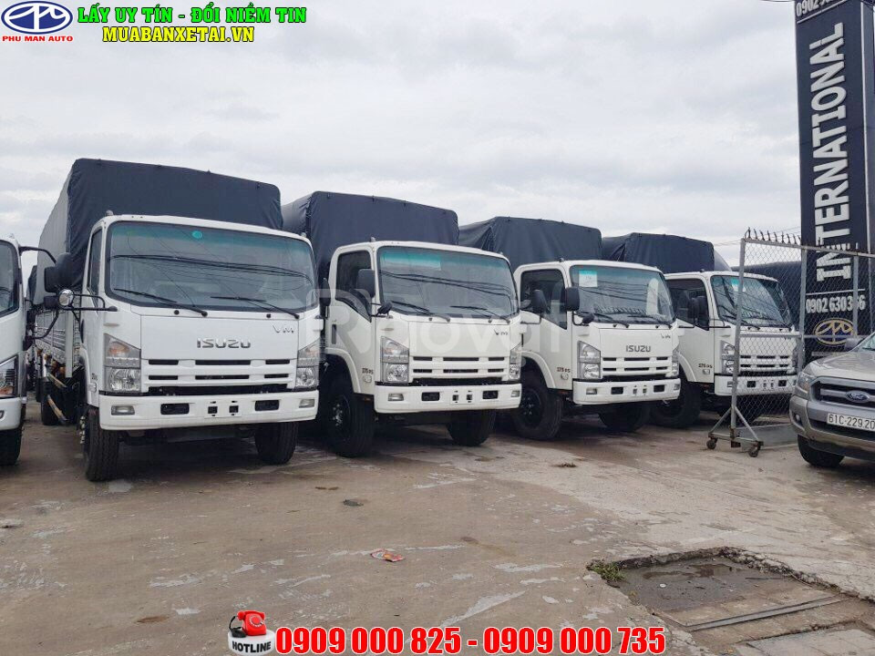 Xe tải Isuzu 8 tấn|8T2 xe tải Isuzu VM 8.2 tấn thùng dài 7.1m