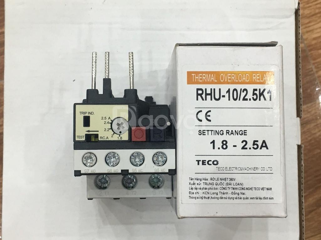 Rơ le nhiệt Teco RHU10/2.5K1