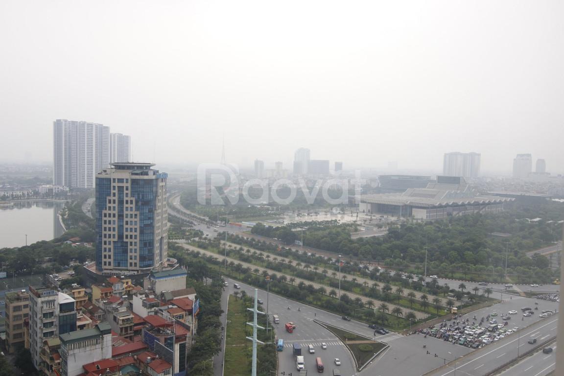 Cho thuê chung cư D'CAPITALE Trần Duy Hưng 93m2, 3 ngủ full đồ 1000$