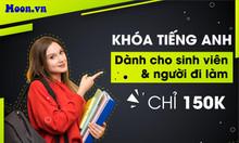 Chỉ 150K Full khóa học tiếng Anh cho Sinh viên và người đi làm