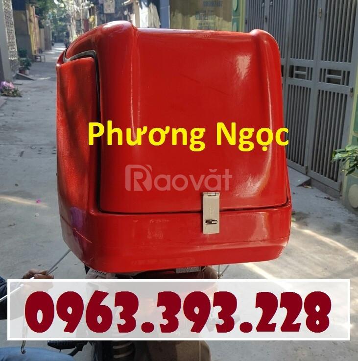 Thùng giao hàng loại nhỏ, thùng chở hàng sau xe máy