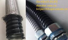 Chọn ống ruột gà bọc nhựa bọc lưới, ống luồn dây điện pvc, ống ruột gà