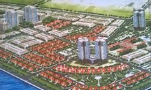 Bán lô biệt thự song lập Đông Nam, 160m2, KĐT An Bình Tân, đã  có sổ