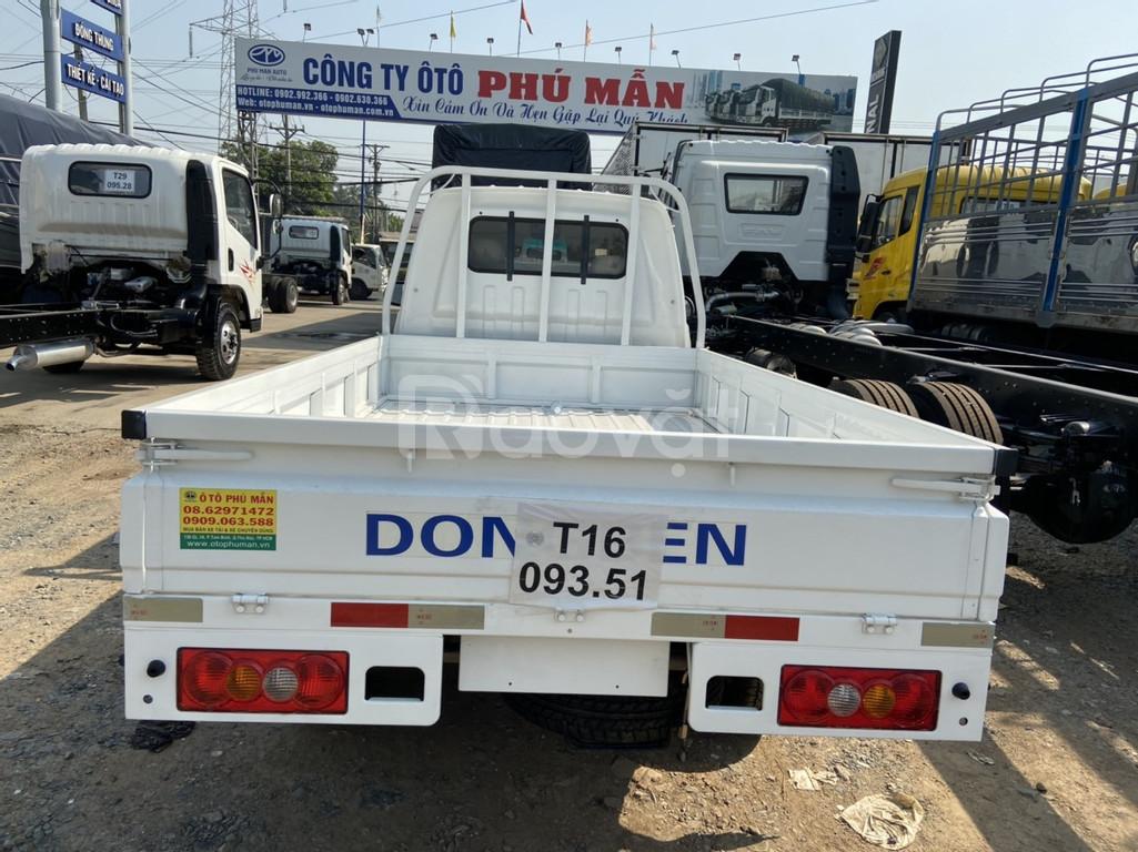 Xe Dongben t30 thùng siêu dài 3m, Dongben giá rẻ vay cao Bình Dương