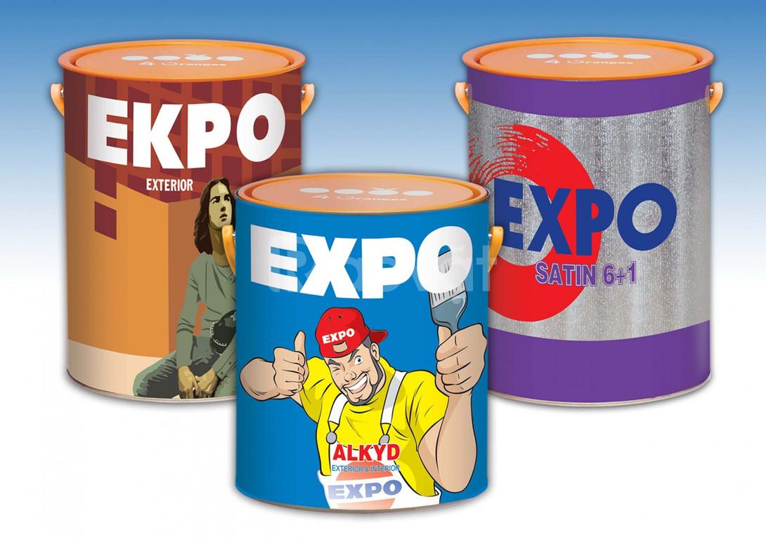 Tìm địa chỉ uy tín cung cấp sơn dầu Expo chính hãng màu bạc 000 giá rẻ