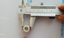 Ống sứ chịu nhiệt 1400 độ tại Hà Nội, ống sứ chịu nhiệt phi 16