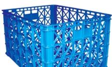Bán khay nhựa, rổ nhựa lớn nhỏ các loại sóng nhựa có bánh xe