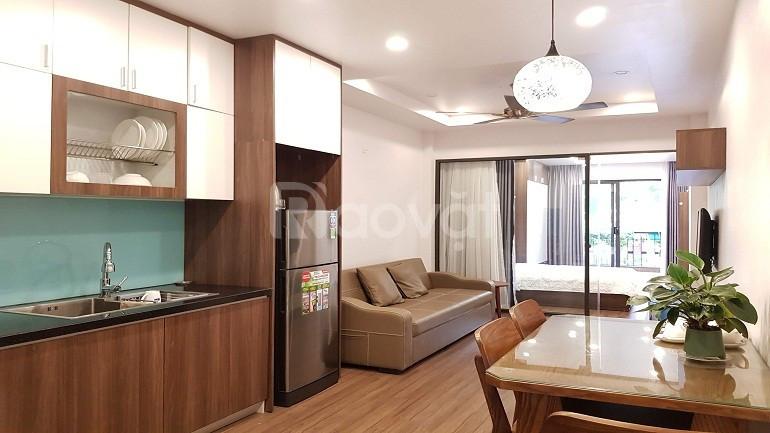 [ID: 426] Cho thuê căn hộ dịch vụ tại Đặng Thai Mai, Tây Hồ, 50m2, 1PN (ảnh 1)