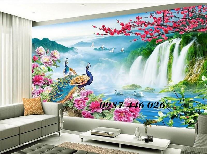 Tranh gạch men 3d, tranh ốp tường, tranh trang trí