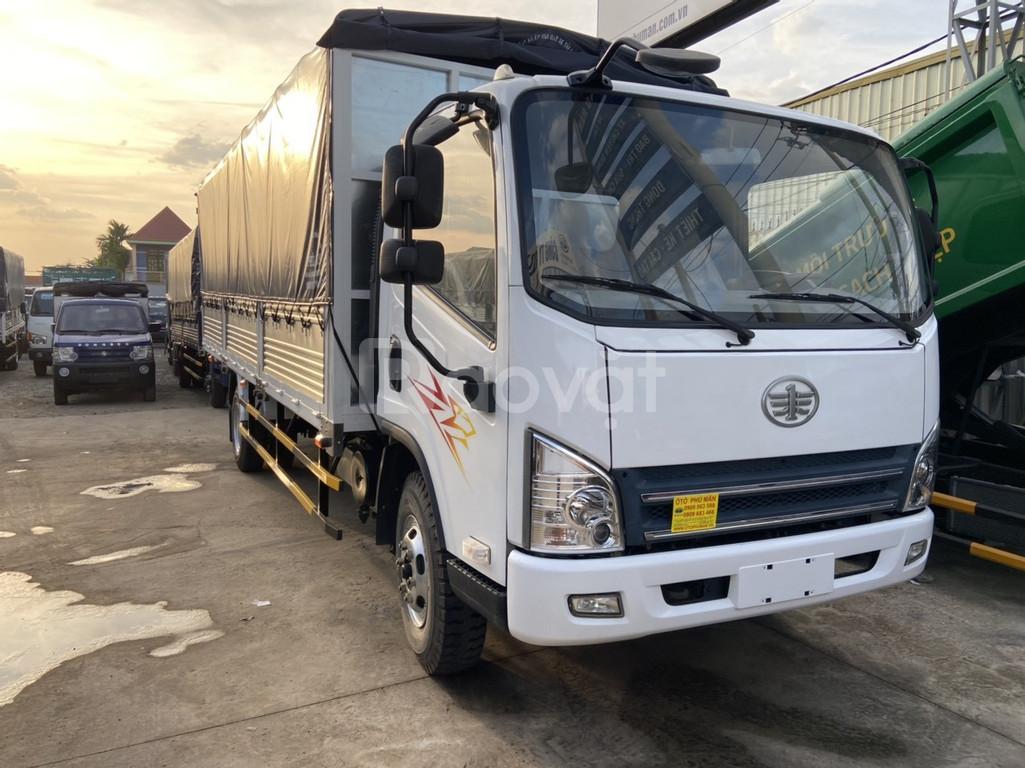 Xe tải 8 tấn thùng dài | Faw 7t3 máy hyundai thùng dài 6m2
