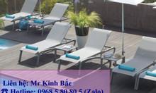Grosfillex, ghế bãi biển, ghế sun lounger, ghế nằm (relax)