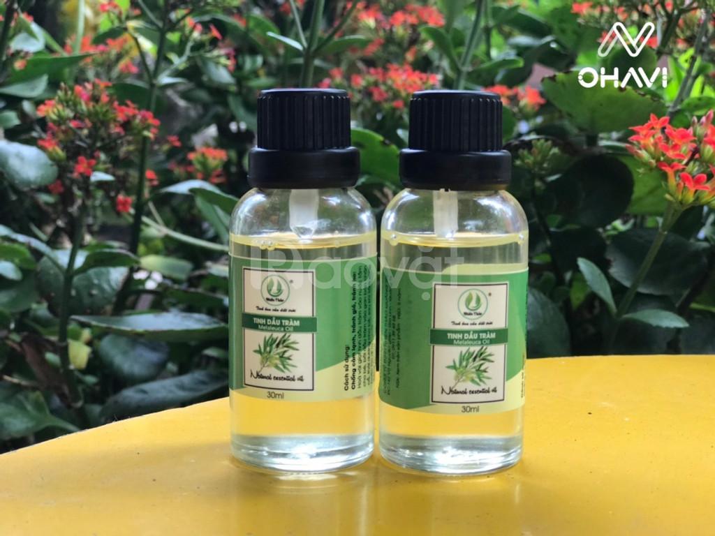 Tinh dầu tràm đuổi muỗi, trị cảm cúm