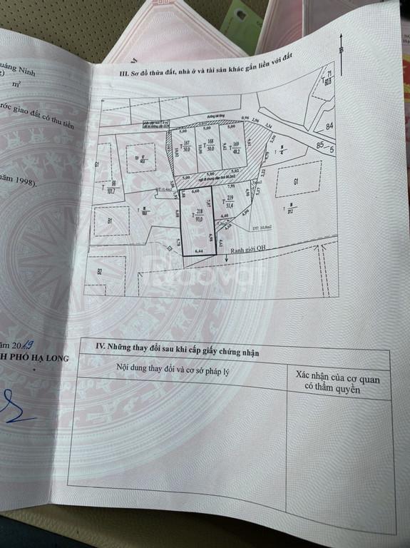 2 ô đất trung tâm thành phố, ngõ 3m, cách đường chính 50m