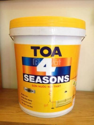 Cung cấp sơn nước TOA 4 seasons cho công trình