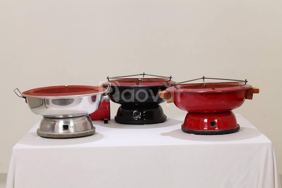 Bếp nướng than hoa Dế Mèn nhanh chóng và an toàn
