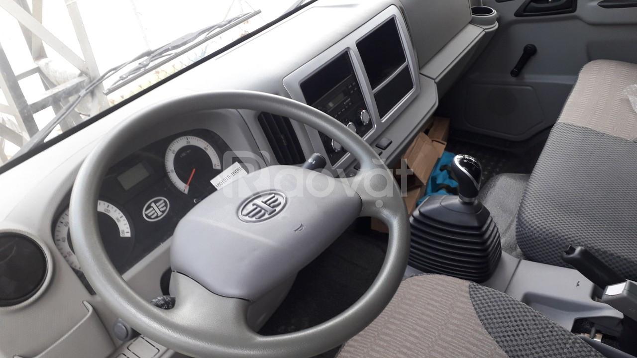 Xe tải 8 tấn Hyundai D4DB ga cơ - Xe tải faw thùng mui bạt 6.2 mét