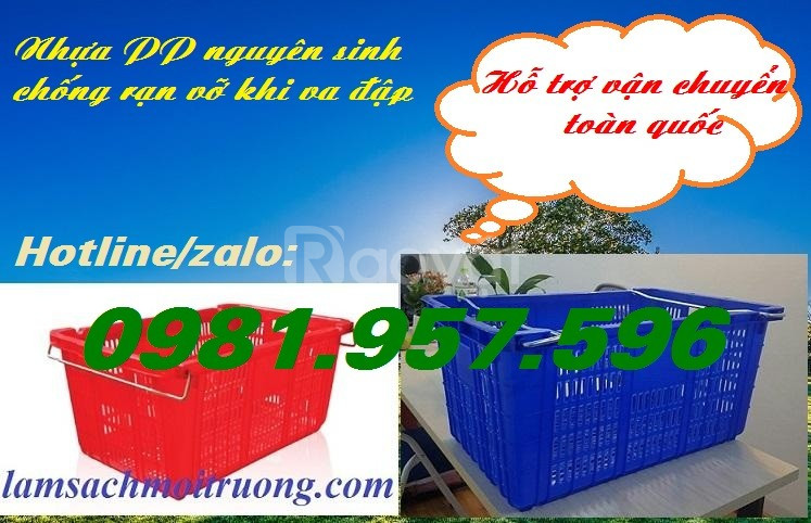 Sóng nhựa rỗng Hs011, sọt nhựa Hs011