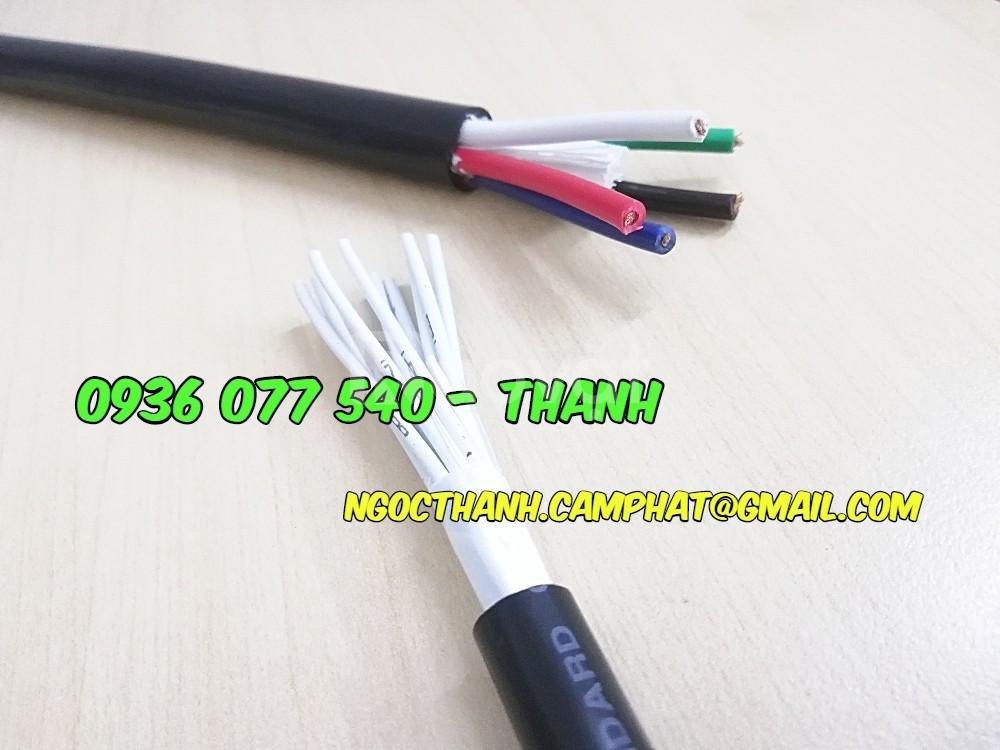 Cáp điều khiển 16Cx1.25MM2 không chống nhiễu CU/PVC/PVC 300/500V