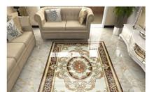 Thảm gạch sàn phòng khách