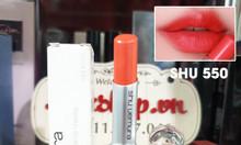 Son Shu Uemura 550 màu cam đỏ chính hãng Nhật Bản