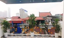 Bán nhà riêng Lạc Long Quân, Tây Hồ 45m2x5T 2 mặt thoáng cách ôtô 30m